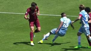 Kevin Strootman Roma Lazio