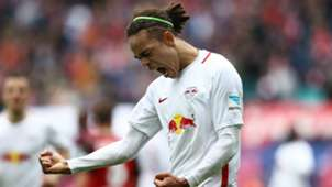 Yussuf Poulsen RB Leipzig SC Freiburg Bundesliga 15042017