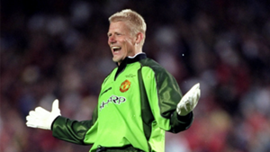 Peter Schmeichel Man United Champions League 1999