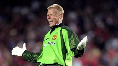 Peter Schmeichel Man United Champions League 1999