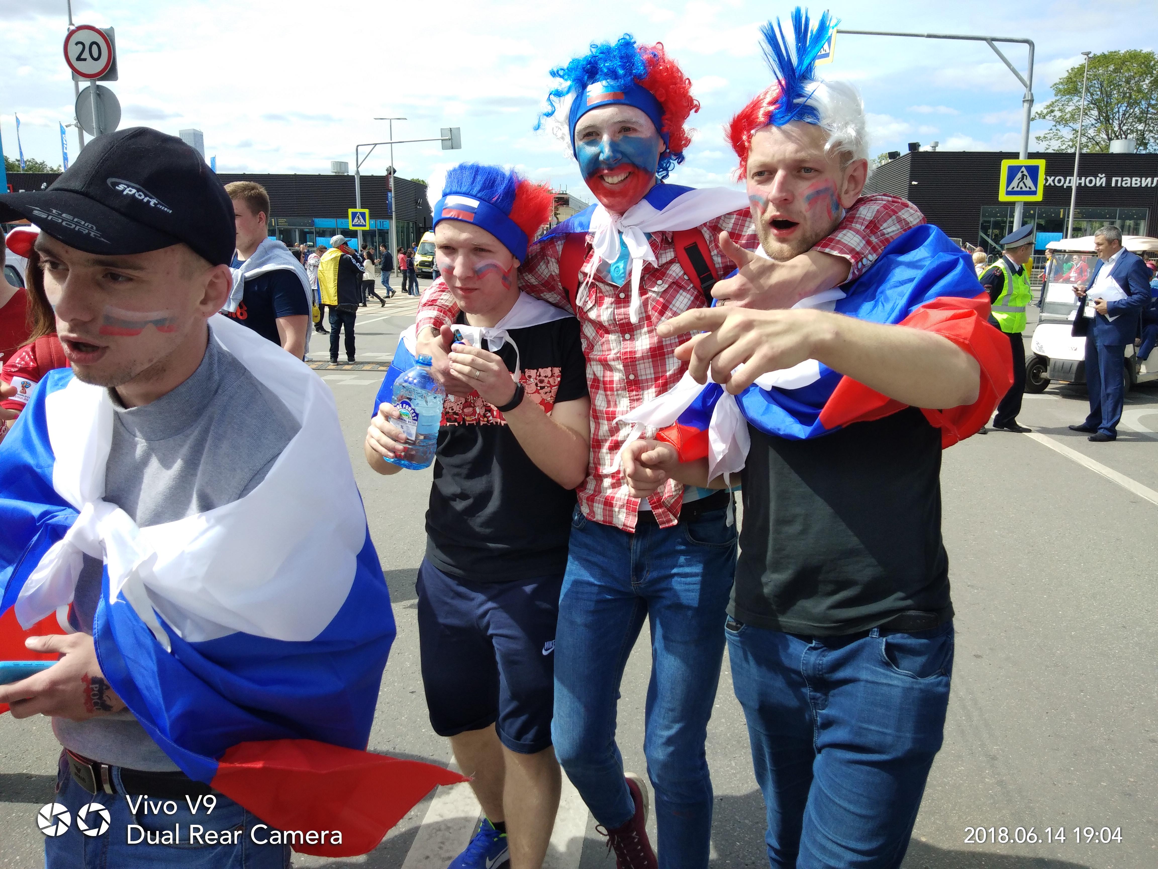 Fans Rusia - Piala Dunia 2018