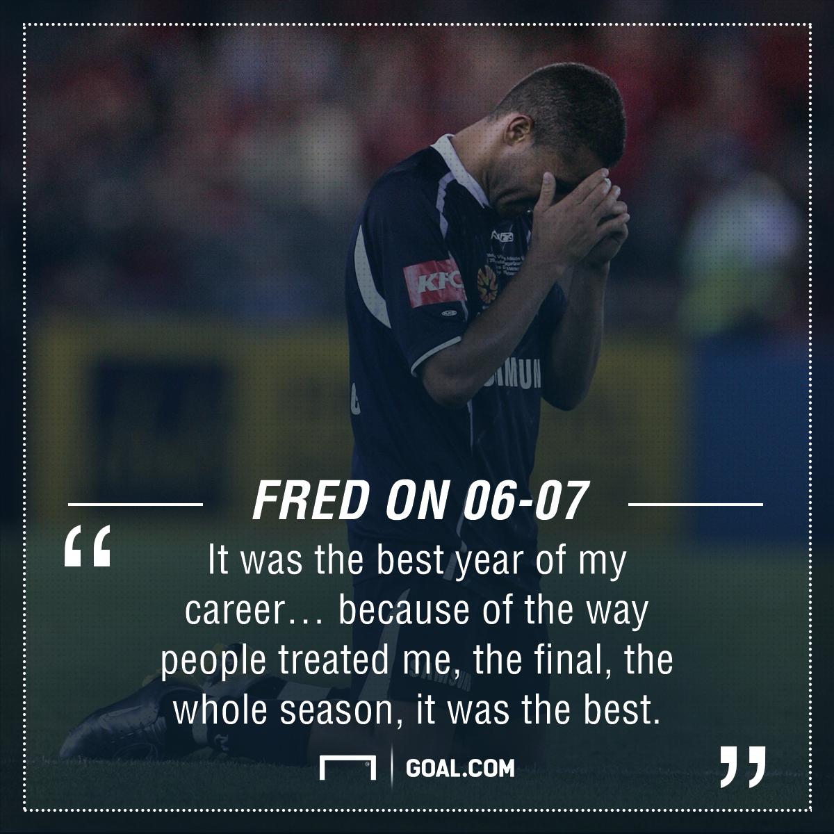 GFX Fred Quote 2006-07 A-League