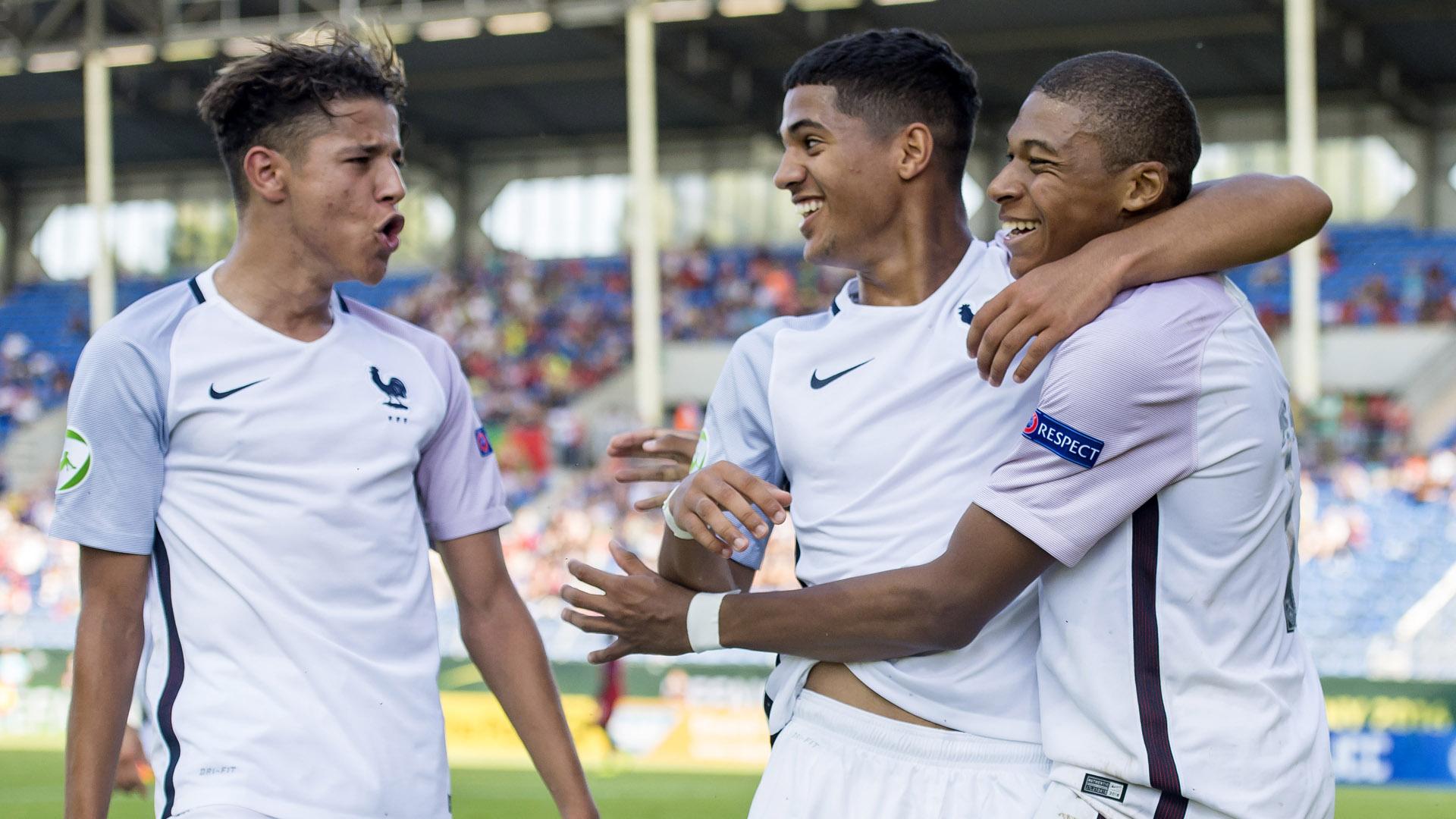 Kylian Mbappe Jean Kevin Augustin Amine Harit U20 France