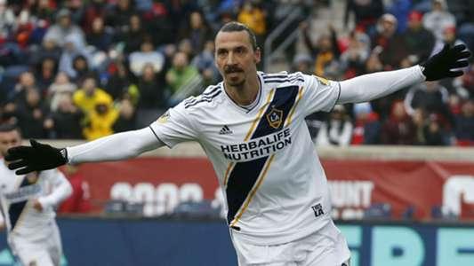 Zlatan Ibrahimovic LA Galaxy MLS
