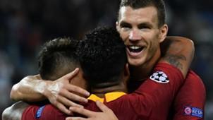 Dzeko Roma Viktoria Plzen Champions League