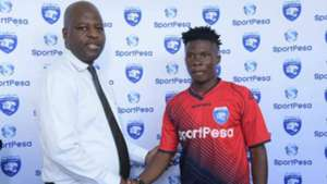 Oscar Igaida and Shadrack Chimanya of AFC Leopards.