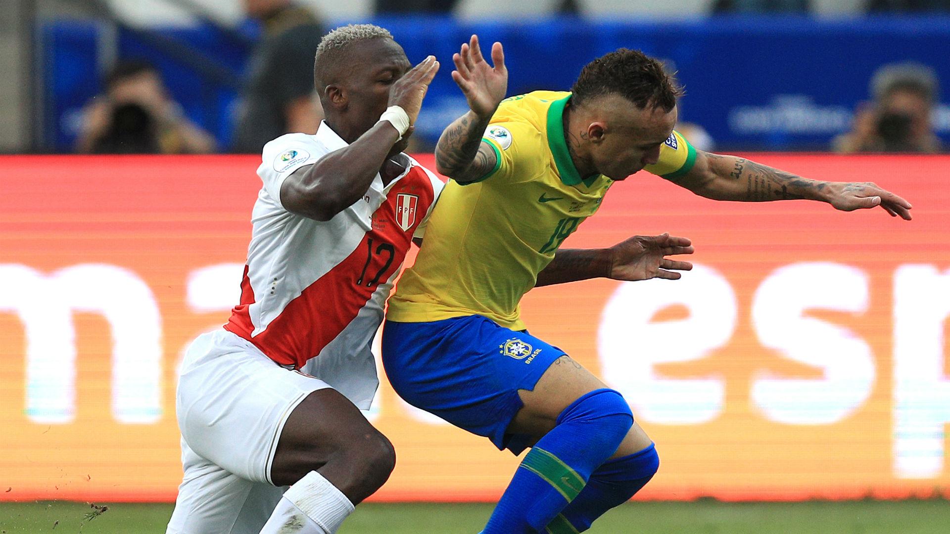 Everton Luis Advincula Brazil Peru Copa America 2019