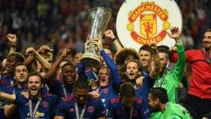 Selebrasi Manchester United Juara Liga Europa