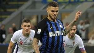 Mauro Icardi Inter Fiorentina Serie A