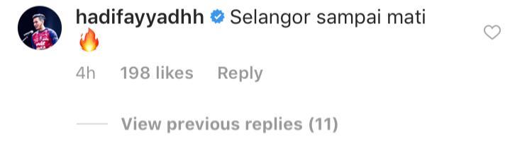 Hadi Fayyadh, Selangor, 2019