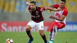 Jeison Gordillo Santa Fe Flamengo Libertadores 2018