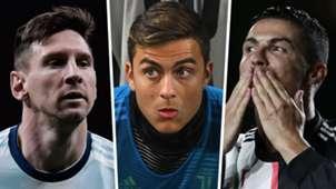 Lionel Messi, Paulo Dybala, Cristiano Ronaldo