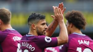 Sergio Aguero Manchester City 16092017