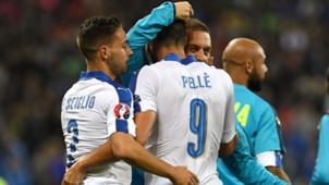 Graziano Pellè Belgium Italy Euro 2016
