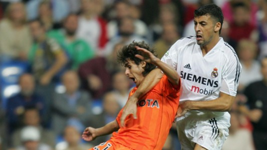 Walter Samuel Real Madrid