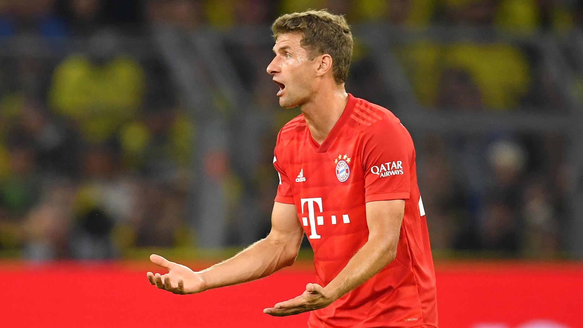 Thomas Müller Bayern BVB Supercup 2019