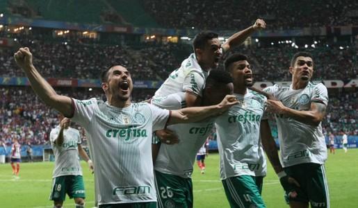 Willian Palmeiras Bahia Brasileirão 18/06/2017