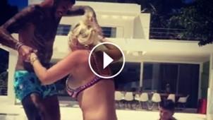 video icardi wanda vacaciones
