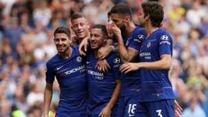 FC Chelsea Hazard Giroud Jorginho Alonso 15092018