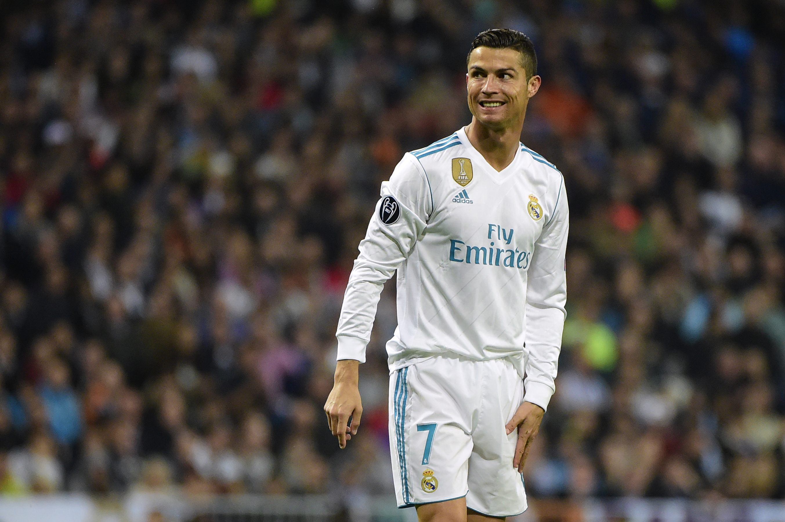 Cristiano Ronaldo Real Madrid Spurs