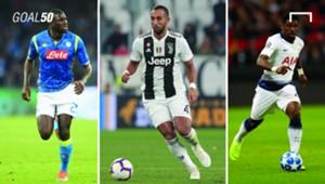 Goal 50 African defenders 2019
