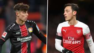 Kai Havertz, Mesut Ozil