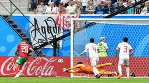 Alireza Beiranvand Morocco Iran World Cup 2018 06152018