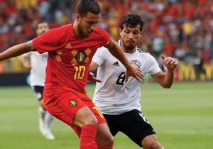 مصر - بلجيكا - طارق حامد - هازارد