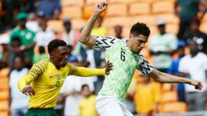 Lebo Mothiba, Leon Balogun - South Africa vs. Nigeria
