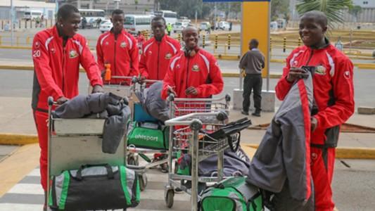 Kenya U-17 sqaud off to Tanzania.