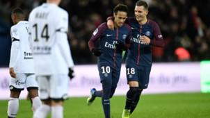 Neymar Giovani Lo Celso PSG Dijon Ligue 1 17012018