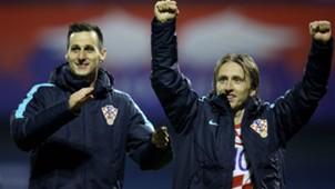 Croatia Greece WC Qualification Kalinic Modric