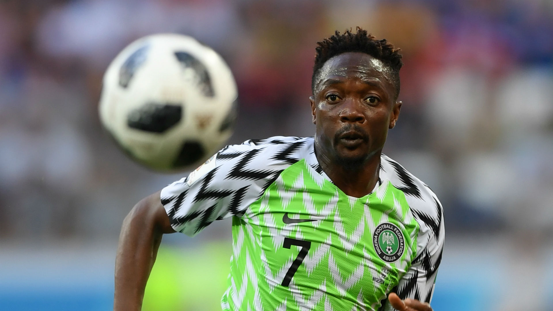 Fulfilled Ahmed Musa Has Earned The Right To Take The Money With Al Nassr Goal Com