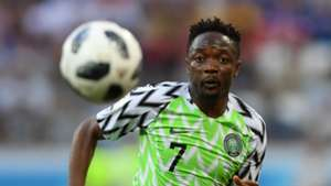 Ahmed Musa Nigeria Iceland World Cup 2018