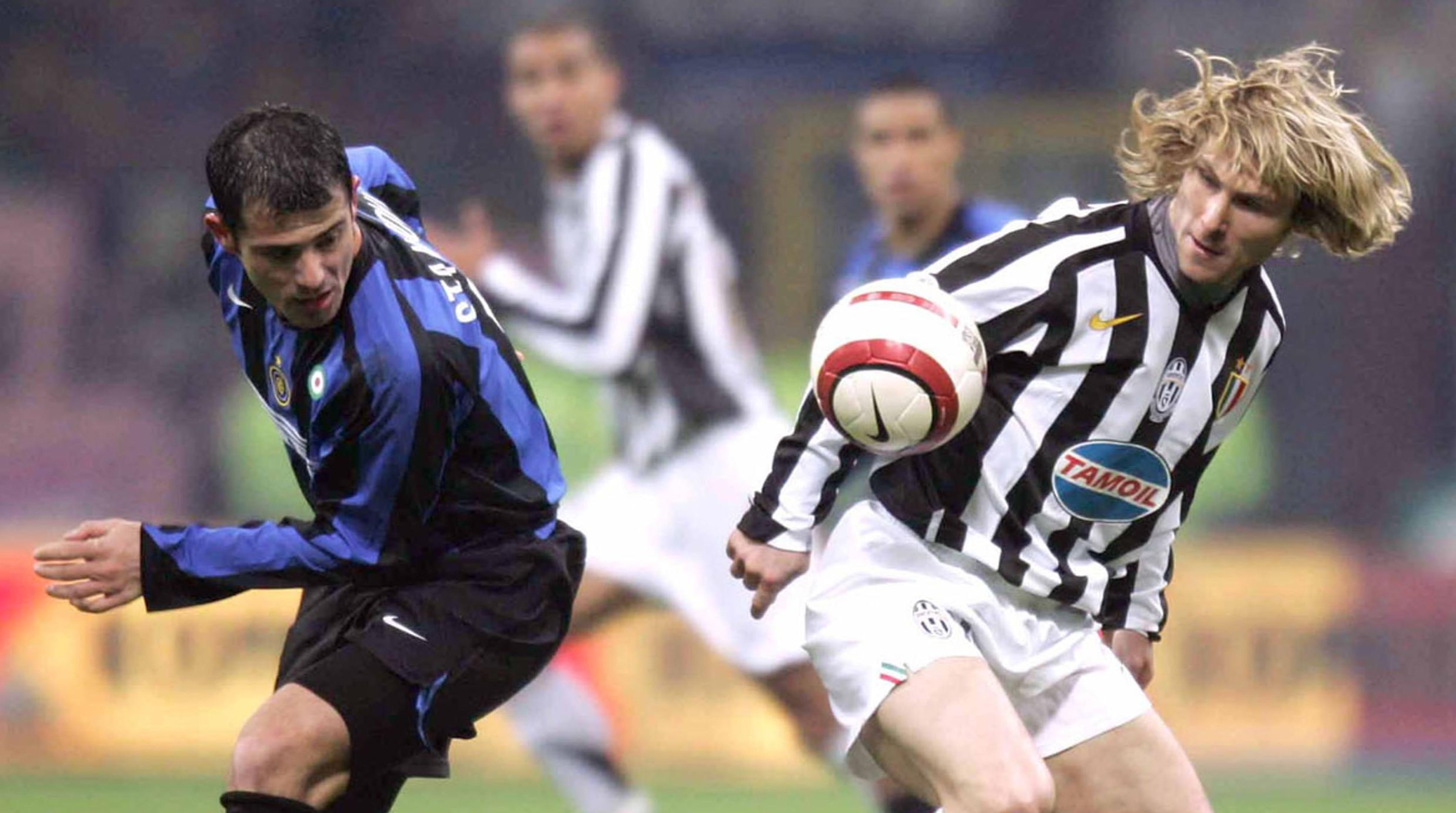 Stankovic Nedved Inter Juventus 2006