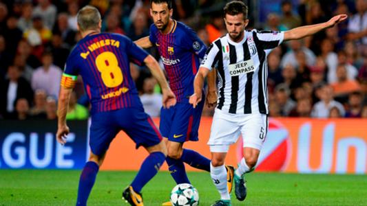 juventus gegen barcelona