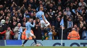 Vincent Kompany Manchester City Leicester City 05062019