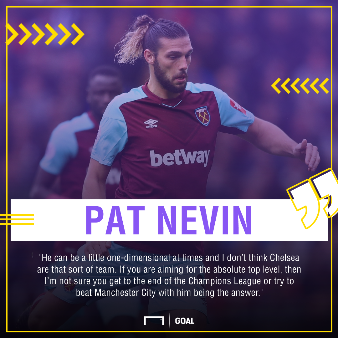 Andy Carroll Pat Nevin wrong for Chelsea