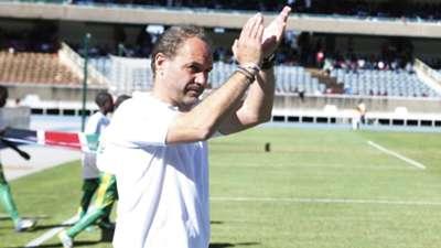 Kenya and Harambee Stars coach Sebastien Migne.