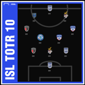 ISL 2018-19 Team of the Round 10