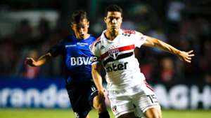 Hernanes Adrian Cubas São Paulo Talleres Copa Libertadores 13022019