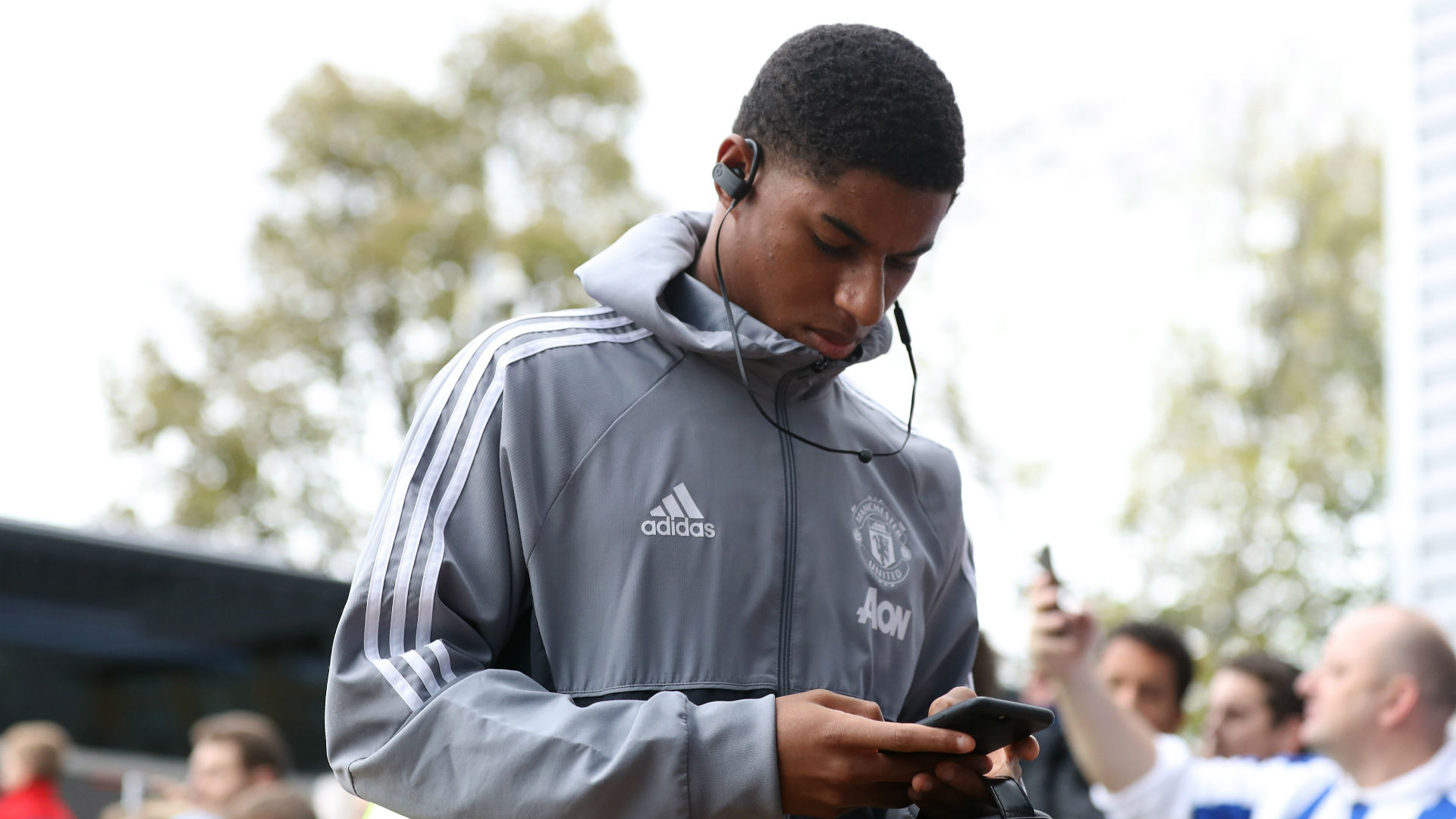 Gary Neville believes Marcus Rashford's situation at Manchester United is not unusual