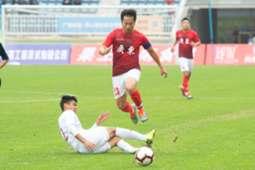Guangdong Hong Kong cup, Hong Kong 1:2 lost to Guangdong.
