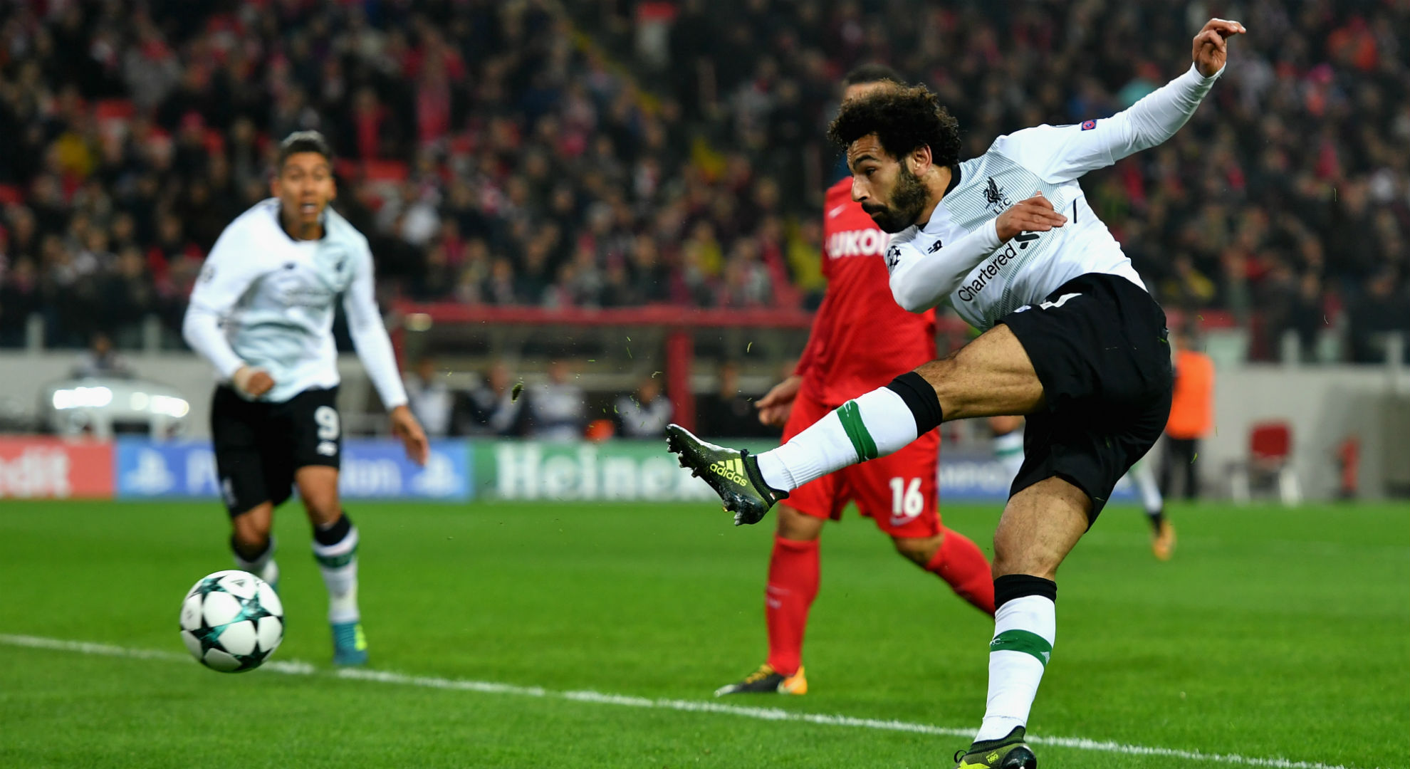Mohamed Salah Liverpool Spartak Moscow