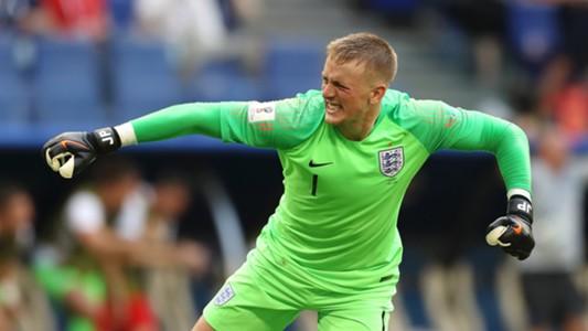 Jordan Pickford England Sweden World Cup 2018 070718