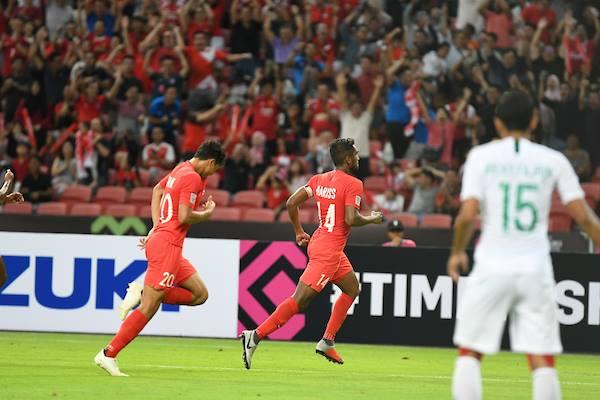 Indonesia 0-1 Singapore