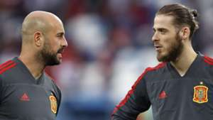 'We all have ups and downs' - Reina offers backing to De Gea after end-of-season struggles