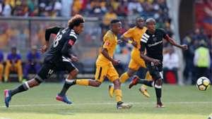 Issa Sarr Hendrick Ekstein and Thabo Matlaba - Kaizer Chiefs vs Orlando Pirates