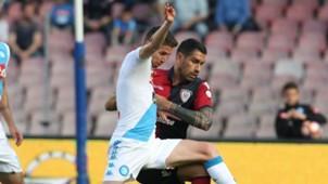 Jorginho Marco Borriello Napoli Cagliari Serie A