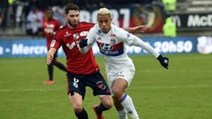 Brighton Lebeau Houssem Aouar Amiens Lyon Ligue 1 10122017